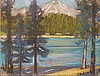 Mt Shasta from Lake Siskiyou, Afternoon II